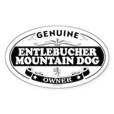 ENTLEBUCHER MOUNTAIN DOG Oval Decal