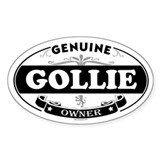 GOLLIE Oval Decal