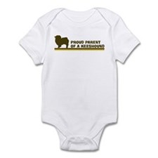 Keeshound (proud parent) Infant Bodysuit