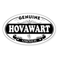 HOVAWART Oval Decal