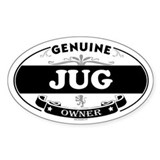 JUG Oval Decal