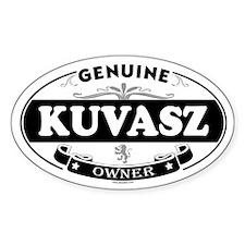 KUVASZ Oval Decal