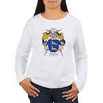 Gurrea Family Crest Women's Long Sleeve T-Shirt