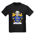 Gurrea Family Crest Kids Dark T-Shirt