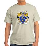 Gurrea Family Crest Light T-Shirt