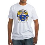 Gurrea Family Crest Fitted T-Shirt