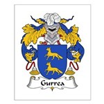 Gurrea Family Crest Small Poster