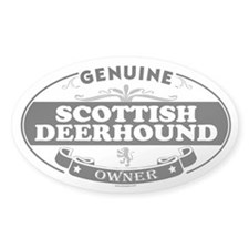 SCOTTISH DEERHOUND Oval Decal