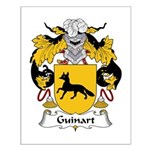 Guinart Family Crest  Small Poster