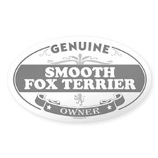 SMOOTH FOX TERRIER Oval Decal