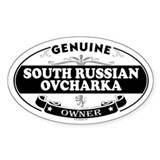 SOUTH RUSSIAN OVCHARKA Oval Decal