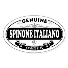 SPINONE ITALIANO Oval Decal