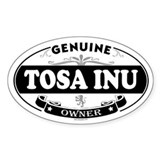 TOSA INU Oval Decal