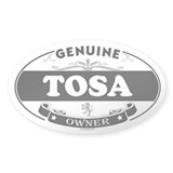 TOSA Oval Decal