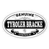 TYROLER BRACKE Oval Decal