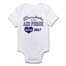 Somebody in the Air Force Loves Me Onesie