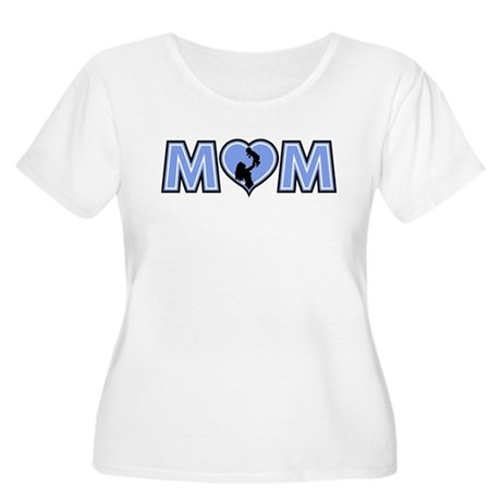 Mom Women's Plus Size Scoop Neck T-Shirt