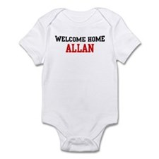 Welcome home ALLAN Infant Bodysuit