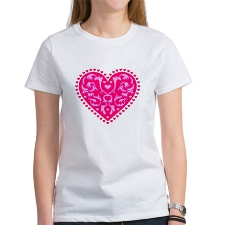 Fancy Heart Women's T-Shirt