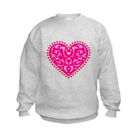 Fancy Heart Kids Sweatshirt