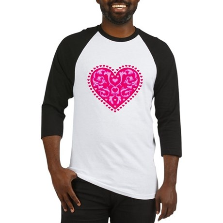 Fancy Heart Baseball Jersey