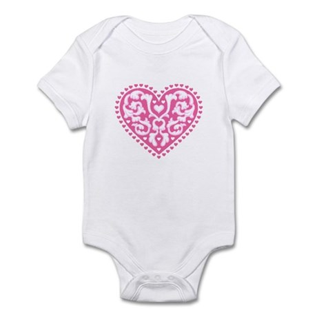 Fancy Heart Infant Bodysuit