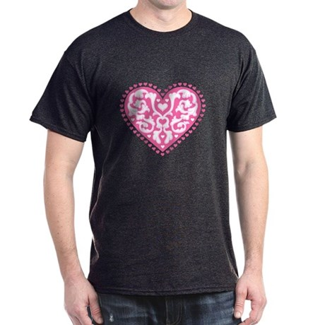 Fancy Heart Dark T-Shirt