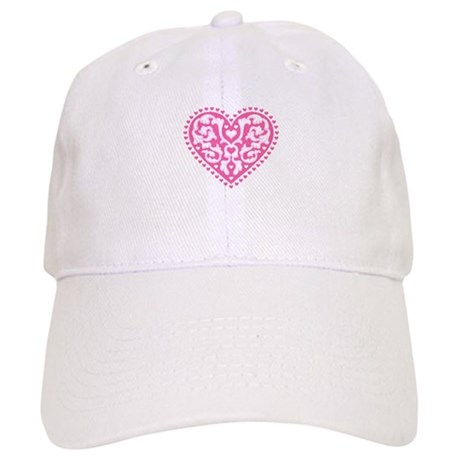 Fancy Heart Cap