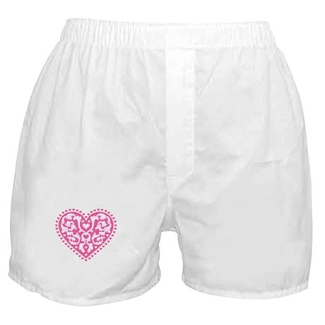 Fancy Heart Boxer Shorts