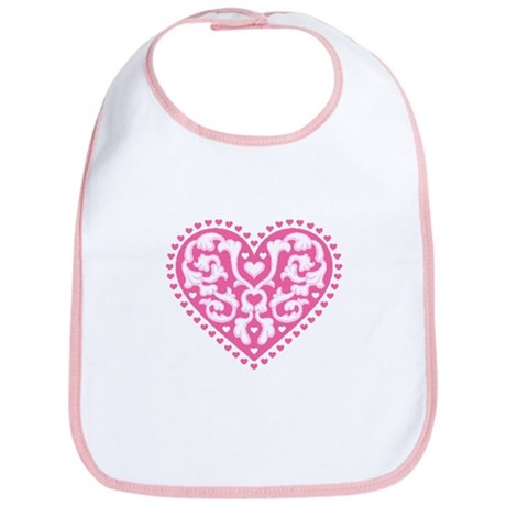 Fancy Heart Bib