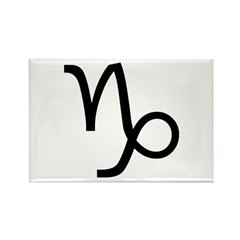 Capricorn Symbol Rectangle Magnet (10 pack)