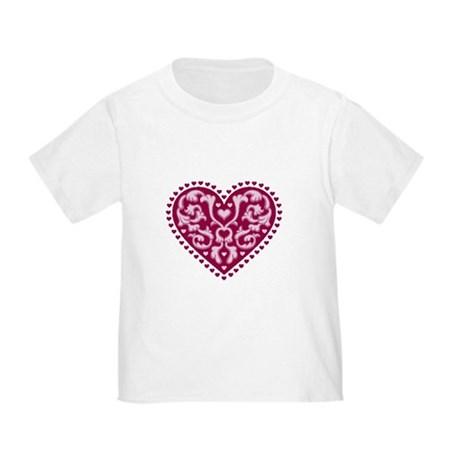 Fancy Heart Toddler T-Shirt