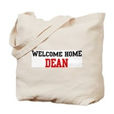 Welcome home DEAN Tote Bag