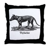 Thylacine 2 Throw Pillow