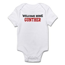Welcome home GUNTHER Infant Bodysuit