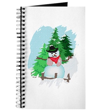 Forest Snowman Journal