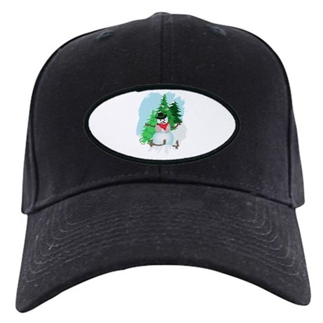 Forest Snowman Black Cap
