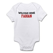 Welcome home FABIAN Infant Bodysuit