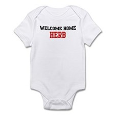 Welcome home HERB Infant Bodysuit