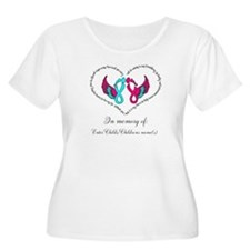 Custom Pregnancy Infant Loss Plus Size T-Shirt