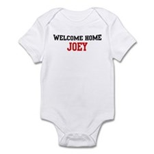 Welcome home JOEY Infant Bodysuit