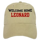 Welcome home LEONARD Baseball Cap
