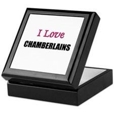 I Love CHAMBERLAINS Keepsake Box