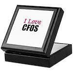 I Love CFOS Keepsake Box