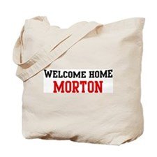 Welcome home MORTON Tote Bag