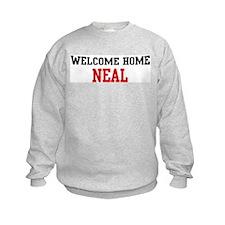 Welcome home NEAL Sweatshirt