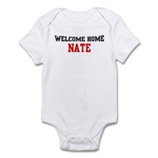 Welcome home NATE Infant Bodysuit