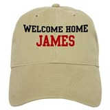 Welcome home JAMES Baseball Cap