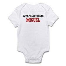 Welcome home MIGUEL Infant Bodysuit