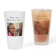 Custom Preemie Miracle Drinking Glass